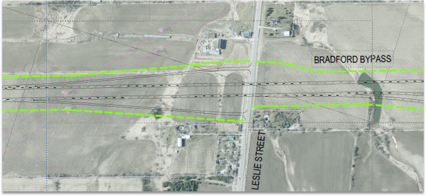 Leslie Street Interchange Base Case from 2002 Approved Environmental Assessment